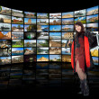 Television, communication and travel — Stock Photo #1462373