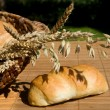 Stock Photo: Still life with bread