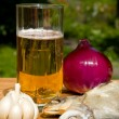 Foto de Stock  : Still life with beer