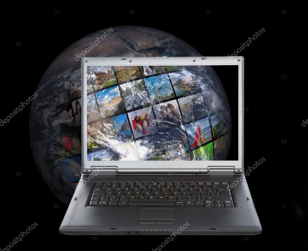 Television and internet production technology concept — Stock Photo #1569998