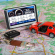 Stock Photo: GPS Navigation system