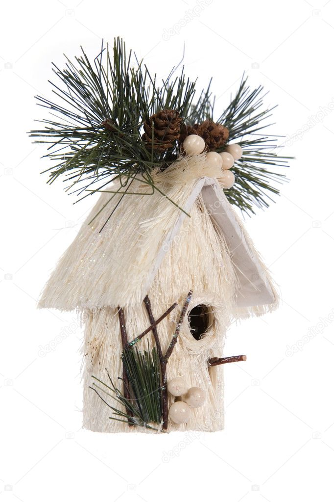 Nestling box- Christmas decoration  Stock Photo #1669929