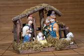 Engel beeldje, decoratie van kerstmis — Stockfoto