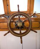 Wooden rudder — Stock Photo