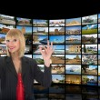 Television, communication and travel — Stock Photo #1702416