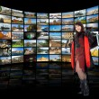 Television, communication and travel — Stock Photo #1702533