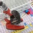 Stock Photo: Laboratory ware and microscope