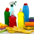 Stock Photo: Subjects for sanitary cleaning house