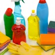Subjects for sanitary cleaning a house — Stock Photo #1969884