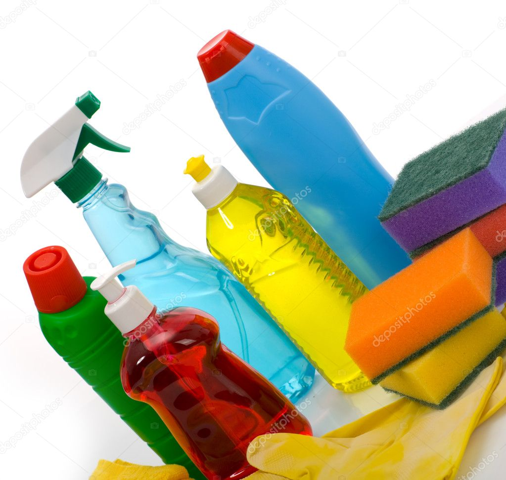 Subjects for sanitary cleaning a house — Stock Photo #1969910