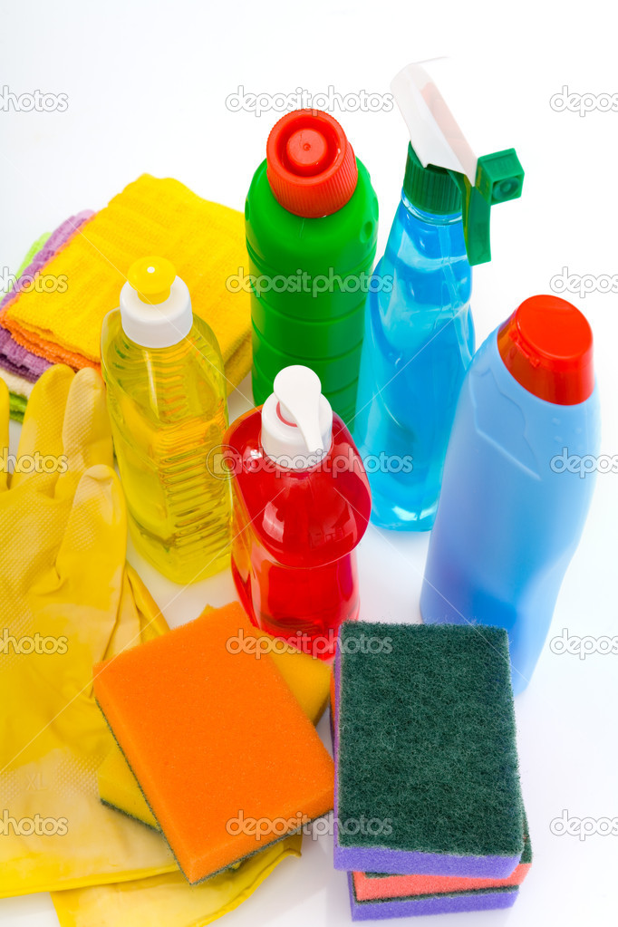 Subjects for sanitary cleaning a house — Stock Photo #1969984