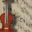 Violin and music notes — Stock Photo #2249122