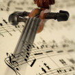 Violin and music notes — Stock Photo #2249152