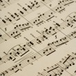 Old music notes — Stock Photo #2249171