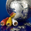 Foto de Stock  : Concept of global communication