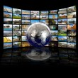 Royalty-Free Stock Photo: Television and internet production