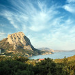 Fine bay in mountains - Stock Photo