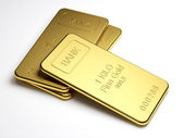 Gold bars — Photo