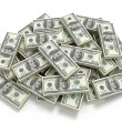 Big pile of the money - Stock Photo