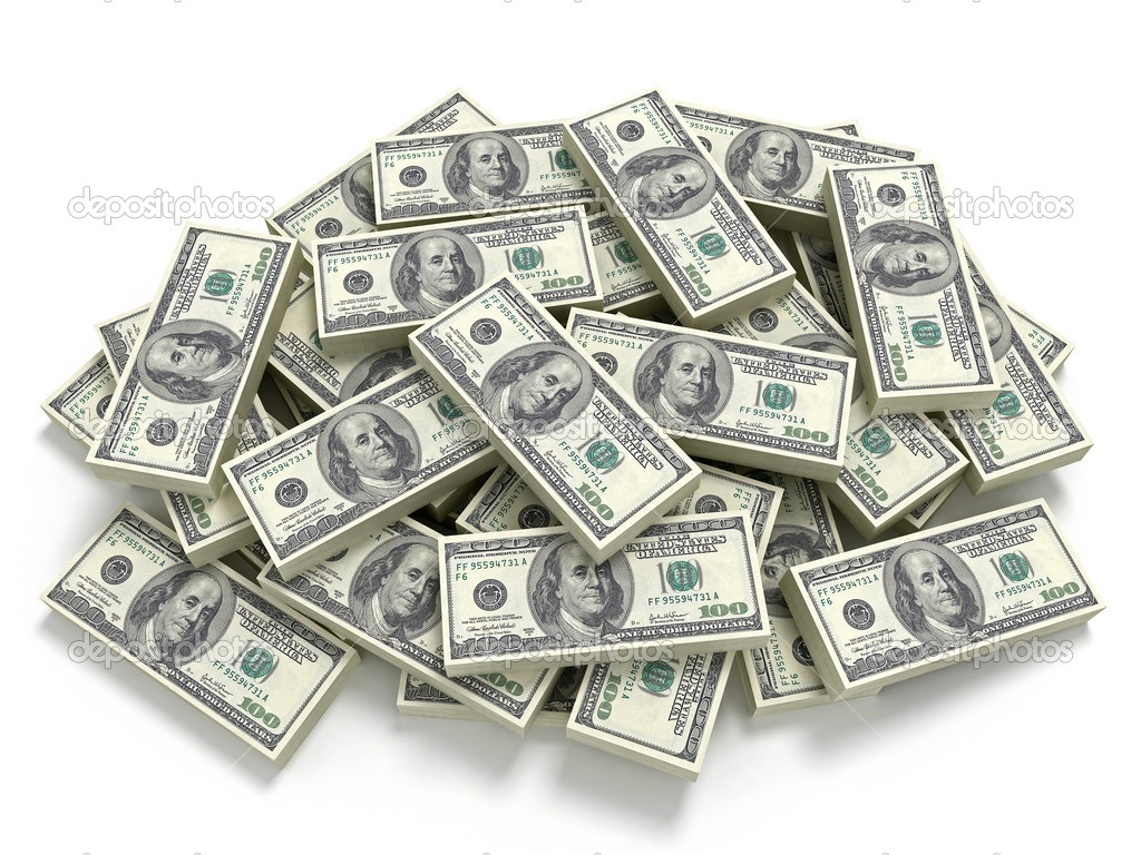 Big pile of the money. Dollars usa  Stock Photo #1967582