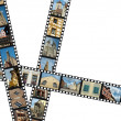 Filmstrips with Germany travel photos — Stock Photo
