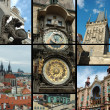 Prague - old city postcard — Stock Photo