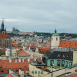 Stock Photo: View of old Prague in overcast day