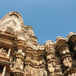 Famous temples in India with love scenes — Stock Photo