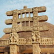 Stupa Gates in Sanchi - Stock Photo