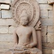 Statue of sitting Buddha — Stock Photo