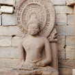 Statue of sitting Buddha - Stock Photo