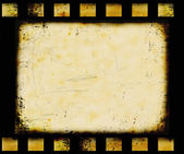 Grunge filmstrip background — Stock Photo