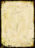 Aged burned paper background — Stock Photo