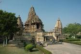 Hindu temple at Khajuraho, India — Stock Photo