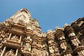 Słynne świątynie w indiach z miłości sceny — Zdjęcie stockowe