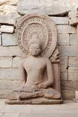 Statue of sitting Buddha — Stock Photo