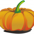 Vector pumpkin — Stock Vector #1094550