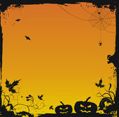 Halloween grunge vector background — Stock Vector