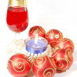 Christmas celebration still life - Stock Photo