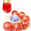 Royalty-Free Stock Photo: Christmas celebration still life