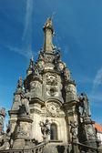 Holy Trinity Column in Olomouc — Stock Photo
