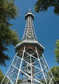Observation tower in Prague — Stock Photo