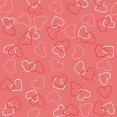 Valentine's day pink vector texture — Stock Vector