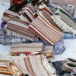 Ukrainian carpets for sale at fair — Stockfoto