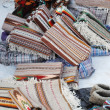 Ukrainian carpets for sale at fair — Lizenzfreies Foto