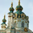 Old Saint Andrew church,Kiev — Stock Photo