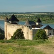 Stock Photo: Old castle in Hotyn, Ukraine