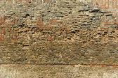 Alte ziegel-mauer-hintergrund — Stockfoto