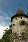 Watchtower of old castle — Stock Photo