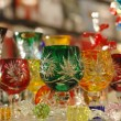 Bohemian glass — Stock Photo
